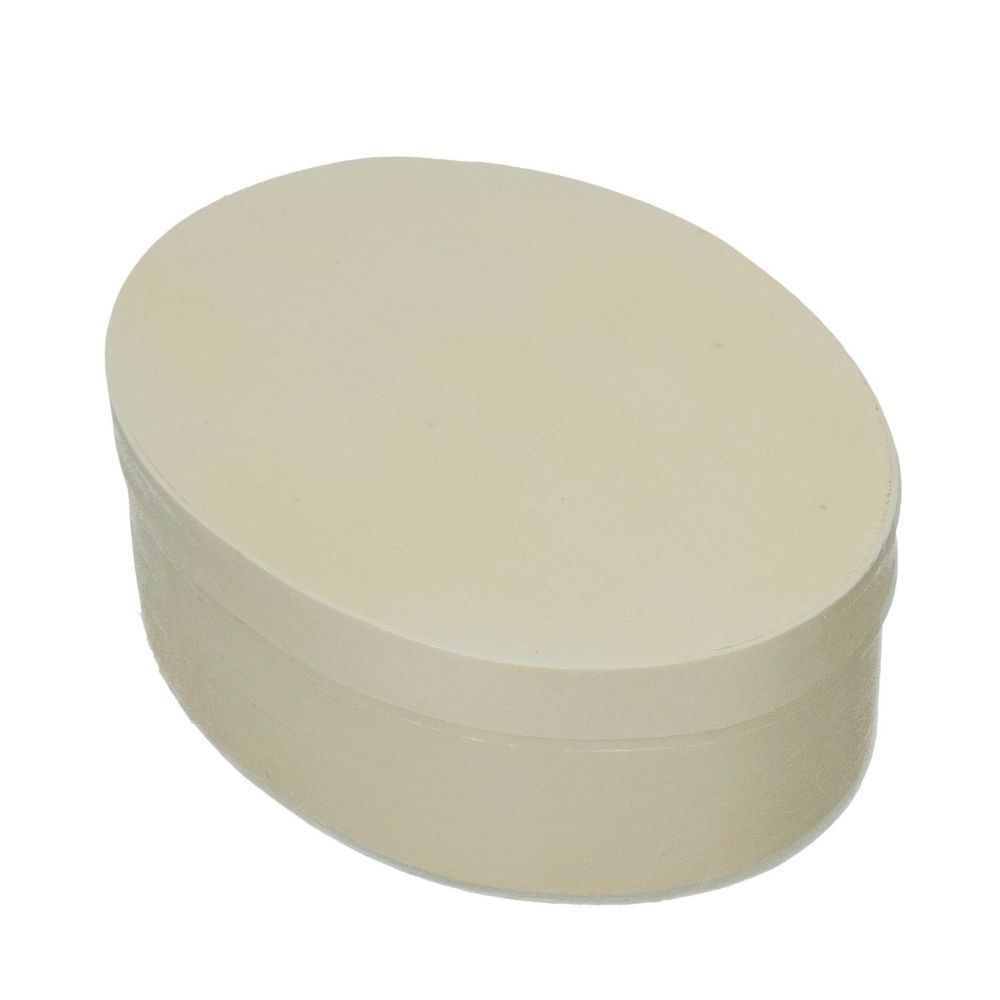 Spandose, oval, d 150 x 110 mm H 50 mm, roh